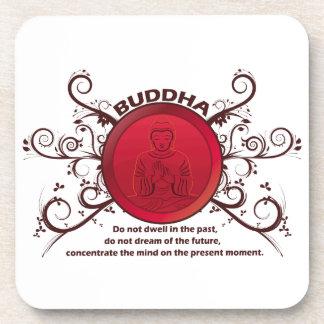 Buddha-Gegenwart Getränkeuntersetzer