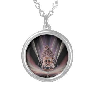 Buddha Halskette Mit Rundem Anhänger