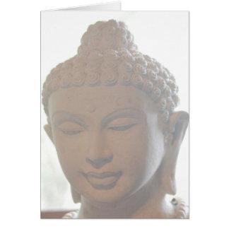 Buddha HauptNotecard Karte