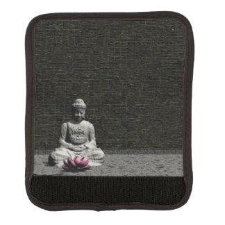 Buddha im grauen Raum - 3D übertragen Gepäck Markierung
