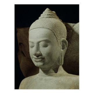 Buddha in der Meditation auf dem Naga-König, Postkarte