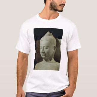 Buddha in der Meditation auf dem Naga-König, T-Shirt