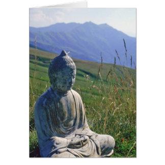 Buddha in der Wiese Karte