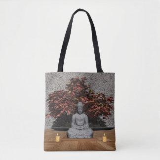 Buddha in einem Raum - 3D übertragen Tasche
