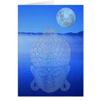 Buddha-Karte Karte