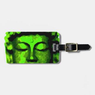Buddha Kopf Gepäckanhänger