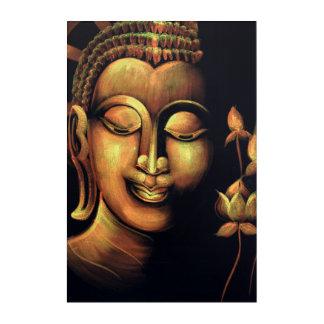 Buddha-Malerei Acryldruck