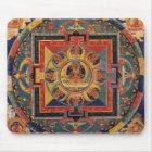 Buddha-Mandala-Antiken-Tibetaner Thanka Mousepad