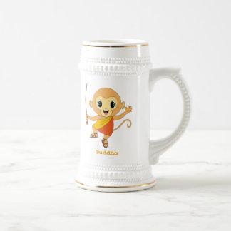 Buddha Monkey™ Stein Bierglas