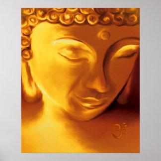 Buddha & Om Poster