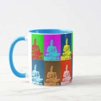 Buddha-Pop-Kunst-Art Tasse