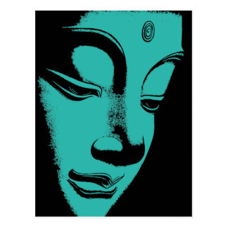 Buddha Postkarte