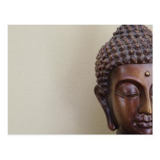 Buddha-Postkarte Postkarte
