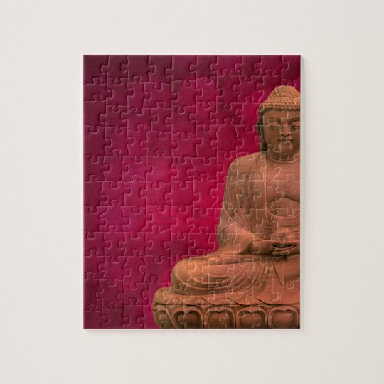 buddha red puzzle