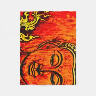 Buddha-Reinheits-Fleece-Decke Fleecedecke