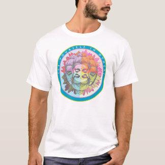 Buddha sehen sich in anderen T-Shirt
