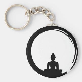 Buddha silent schlüsselanhänger