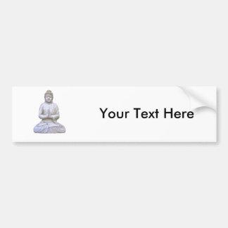 Buddha sitzender ~ Buddhist-Buddhismus Autoaufkleber