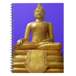 Buddha Spiral Notizblock