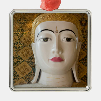 Buddha-Staats-Porträt Silbernes Ornament