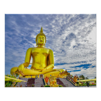 Buddha-Statue Poster