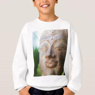 Buddha stellen gegenüber sweatshirt