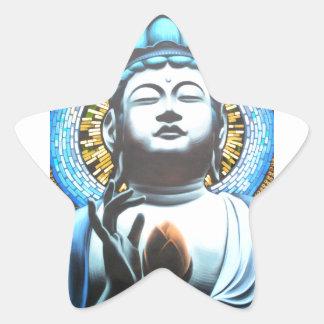 Buddha Stern-Aufkleber