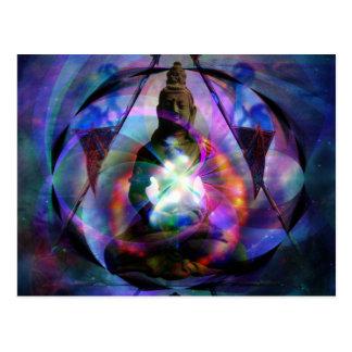 Buddha-Stern-Tor Postkarte