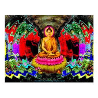 Buddha-Strudel - Postkarte