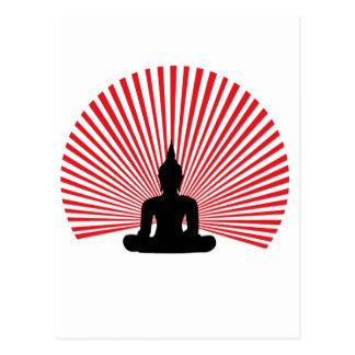 Buddha tha postkarte