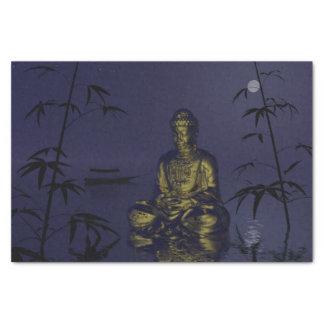 Buddha und Nacht Seidenpapier