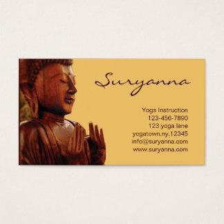 Buddha Visitenkarte