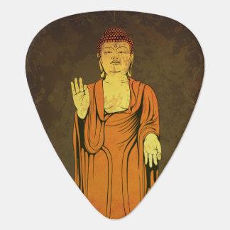 Buddha Vitarka Mudra Gitarren-Pick