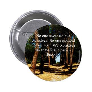 Buddha-Weg-Zitat Button