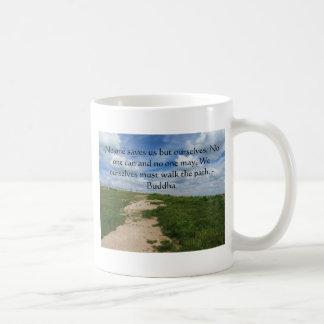 Buddha-Weg-Zitat Kaffeetasse