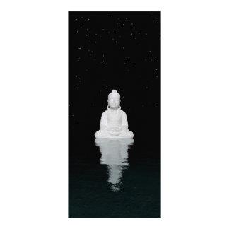 Buddha-Weiß Werbekarte