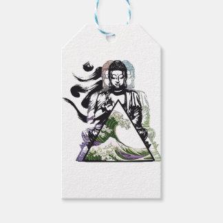 Buddha-Welle 2 Geschenkanhänger