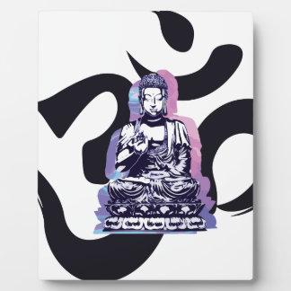 Buddha-Welle 3 Fotoplatte