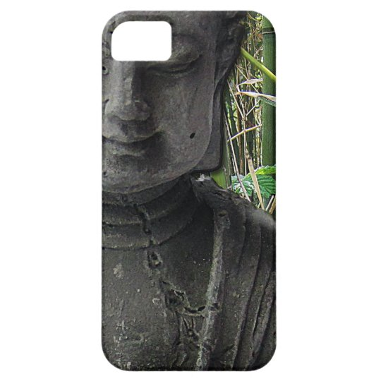 Buddha with bamboo iPhone 5 case