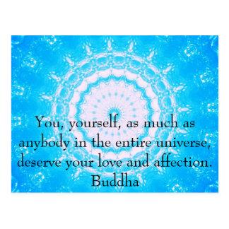 Buddha-ZITAT buddhistische Angelegenheiten-Zitate Postkarte