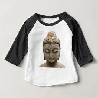 Buddhahauptstatue (entfärbt und alt) baby t-shirt
