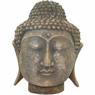 Buddhahauptverzierung Fotoskulptur Ornament