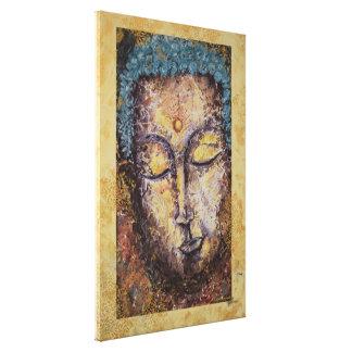 Buddhawatercolor-Leinwand-Druck 20x30 Leinwanddruck