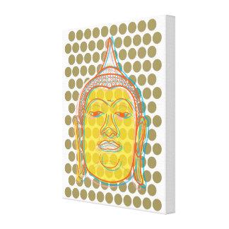 Buddhazen-wickelten moderne Pop-Punkte Leinwand