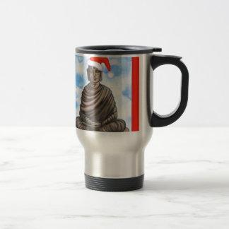 Buddhismus - Buddha - frohe Weihnacht-Hut Reisebecher