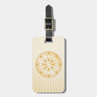 Buddhismus-Symbol Kofferanhänger