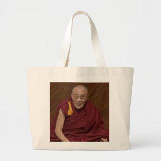 Buddhistische Buddhismus-Meditation Yog Dalai Jumbo Stoffbeutel