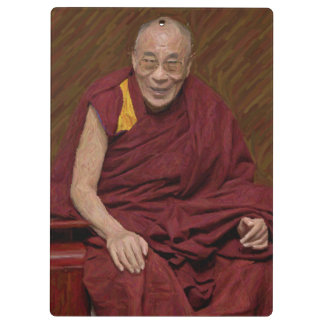 Buddhistische Buddhismus-Meditation Yog Dalai Klemmbrett