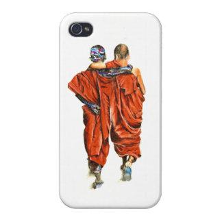 Buddhistische Mönche iPhone 4 Case