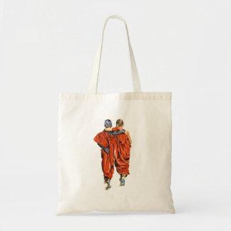 Buddhistische Mönche Tragetasche
